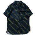 【6/18 OFF率変更/30%OFF】Geometry Open Collar Shirt