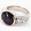 アレキサンドライト×ダイヤモンドリング 指輪 A5,185 D1,341 【新品】 Alexandrite Diamond ring Refurbished 【NEW】