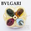 ブルガリ アレグラ リング 指輪 18KWG×18KYG 【新品同様】 BVLGARI Ring Allegra 18KWG×18KYG 【USED】