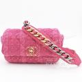 シャネル ウエスト バッグ ショルダー ピンク ツィード 【未使用品】 CHANEL West Bag Pink 【UNUSED】