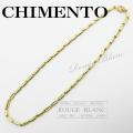 キメント ネックレス ダイヤ 750 YG 【中古】 CHIMENTO Necklace diamond 【USED】