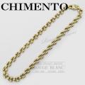 キメント ネックレス ダイヤ 750 YG×WG リバーシブルタイプ 【中古】 CHIMENTO Necklace diamond 【USED】