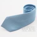 """エルメス ネクタイ """"ファソネH 24"""" ブルーシエル シルク 【新品】  HERMES Tie """"Faconnee H 24"""" Bleu ciel  Silk 【NEW】"""