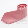 """エルメス ネクタイ """"ファソネH 24"""" ローズペール シルク 【新品】  HERMES Tie """"Faconnee H 24"""" Rose pale  Silk 【NEW】"""