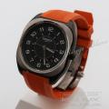 エルメス H08  腕時計 オレンジ メンズ  【新品】 HERMES Men's  Watch Orange  【NEW】