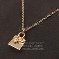 エルメス ネックレス アミュレット バーキン PM ローズゴールド 1Pダイヤ0.04CT 750PG レディース  【新品】 HERMES Neckless Amulet Birkin Rose gold 【NEW】