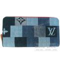 ルイヴィトン ジッピーウォレット モノグラム デニム 長財布 【新品】 Louis Vuitton Long wallet Denim 【NEW】