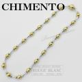 キメント ネックレス ダイヤ 750 YG×WG 【中古】 CHIMENTO Necklace diamond 【USED】
