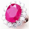 ルビー×ダイヤモンドリング 指輪 プラチナ R10,03ct D2,95ct 【新品】 Ruby Diamond ring Platinum 【NEW】