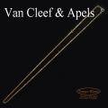 ヴァンクリーフ&アーペル ネックレス K18YG チェーン【中古】Van Cleef & Apels【USED】