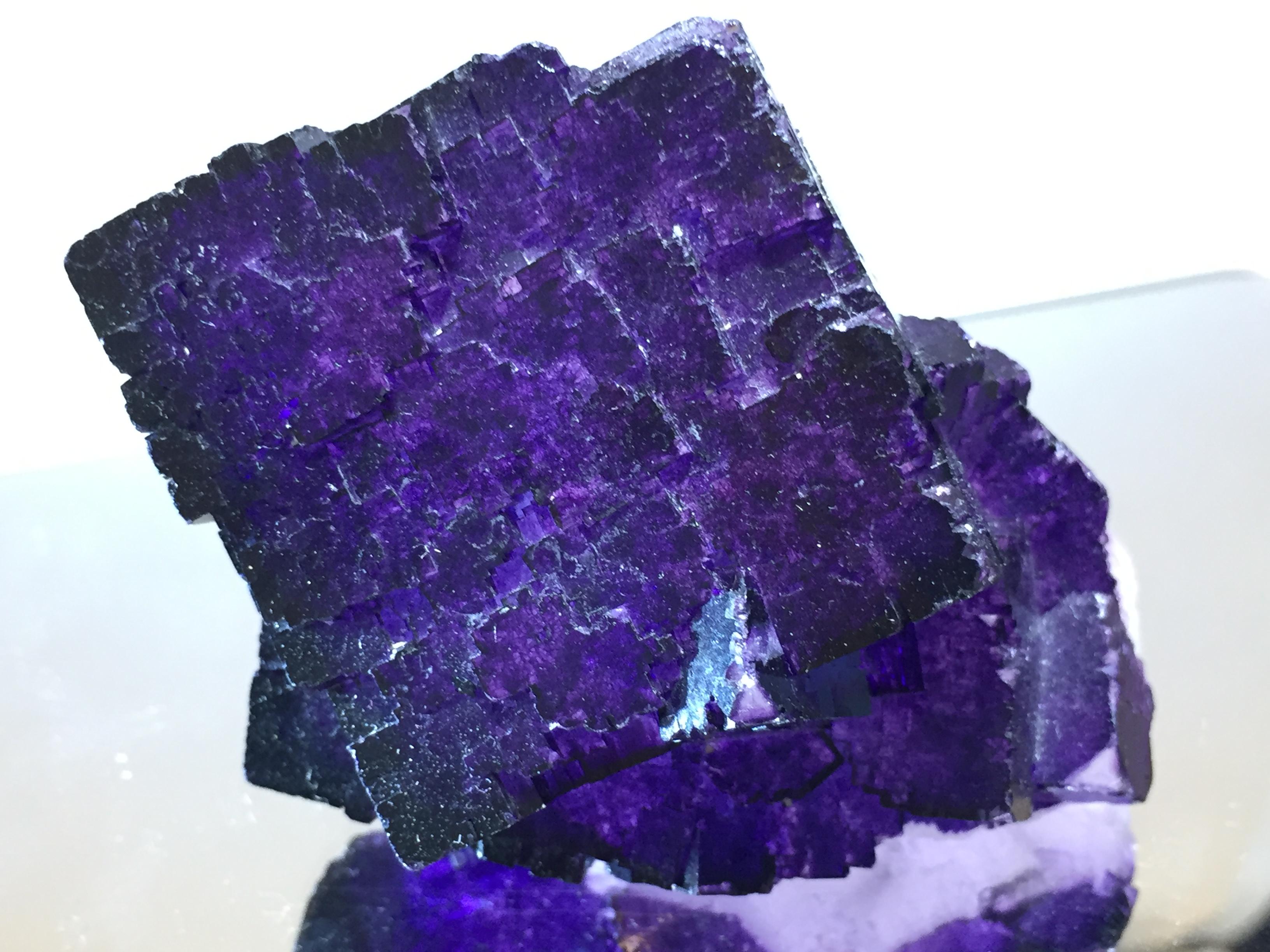 フローライト(ヴァイオレット)蛍石 Fluorite