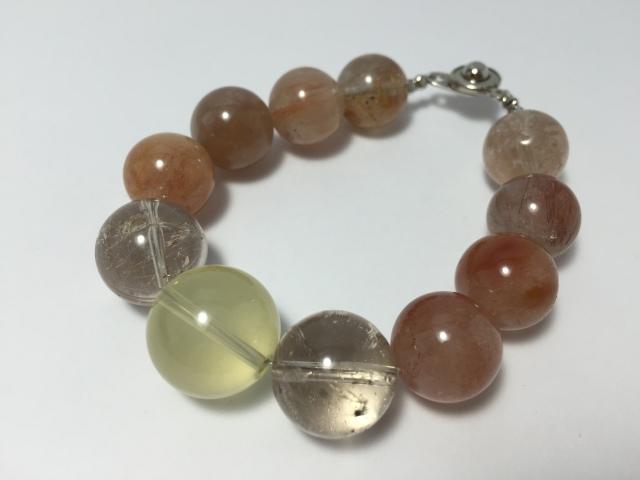レモン水晶&ルチルガーデン&レッドルチル 【PB141201009】