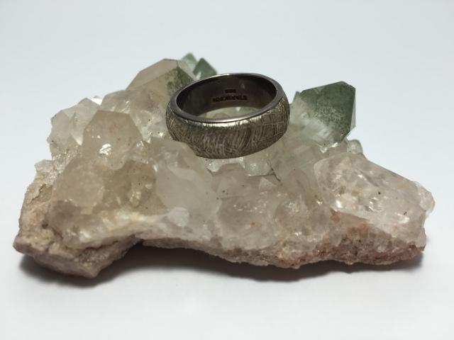 ギベオン隕石 / リング (サイズ14号)