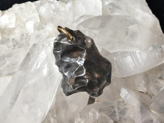 シホーテアリン鉄隕石(14.0g) / ペンダントトップ 【Sikhote0001】