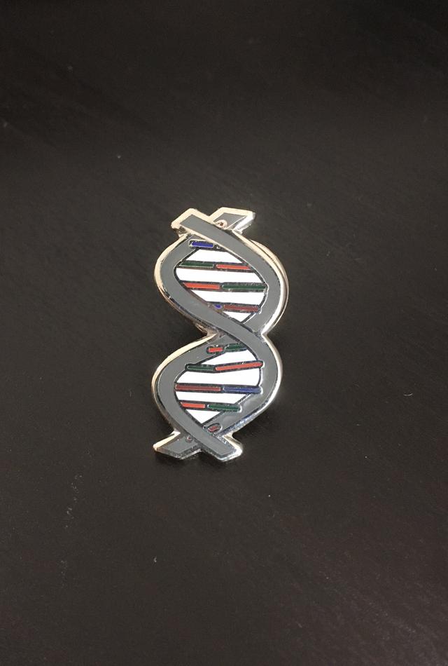 【サイエンスピンバッチ】DNA(Deoxyribonucleic acid)