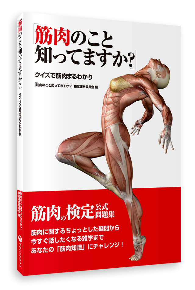 【アウトレット特価】筋肉のこと知ってますか?クイズで筋肉まるわかり【旧版特価】