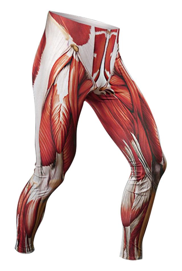 【速乾性スポーツウェア】マッスル・レギンス(Muscle Leggings)