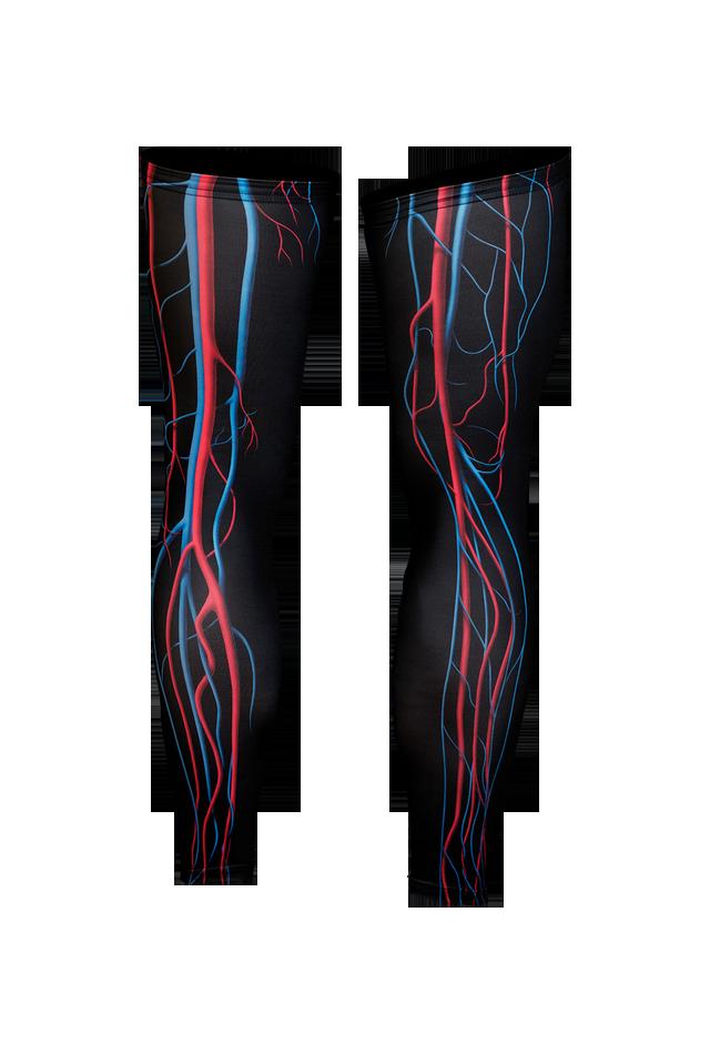【速乾性スポーツウェア】循環系・レッグウォーマー(Circulatory Leg Warmers)