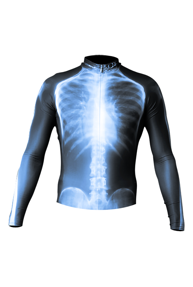 【速乾性スポーツウェア】エックス線・ラッシュガード・ロング(X ray Rashgurad Long)