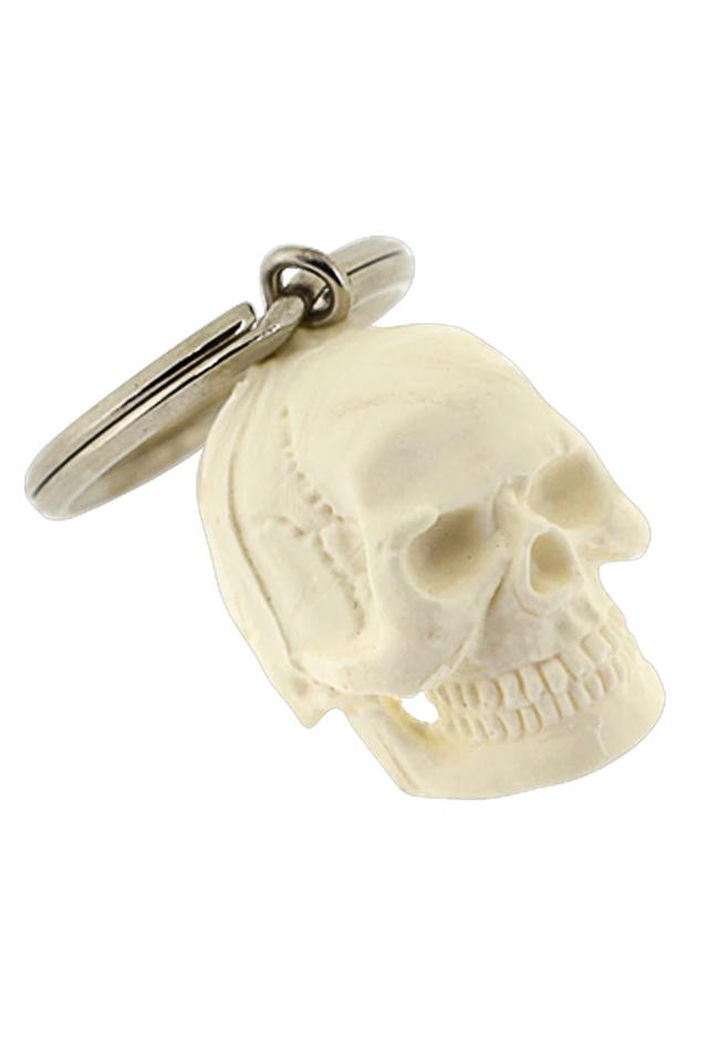 【骨格キーホルダー】頭蓋骨(人体模型)