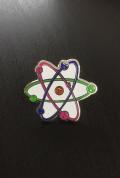【サイエンスピンバッチ】カラフルアトム(Colorful Atom)