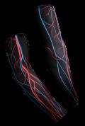 【速乾性スポーツウェア】循環系・アームウォーマー(Circulatory Arm Warmers)