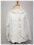 ギャラリービスコンティ 春物 アウトレット セール ジャケット ラグランスリーブ デザイン衿 ジェットタッサー 【 1123973 】