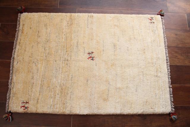 遊牧民のじゅうたん ギャッベ(ラグサイズ小 113×76cm) 749
