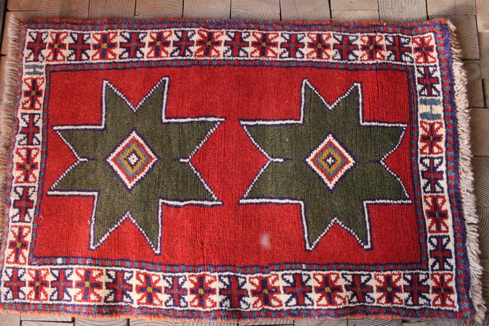 グーチャン絨毯(玄関マットサイズ中) 163-417