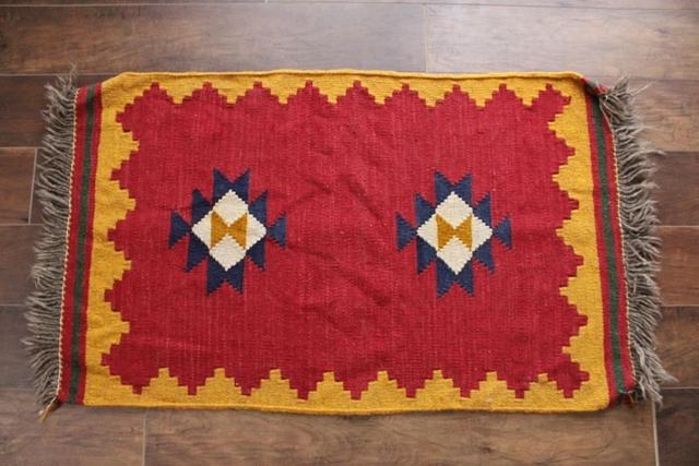 シラーズ産キリム (玄関マットサイズ大 104×63cm) 1338