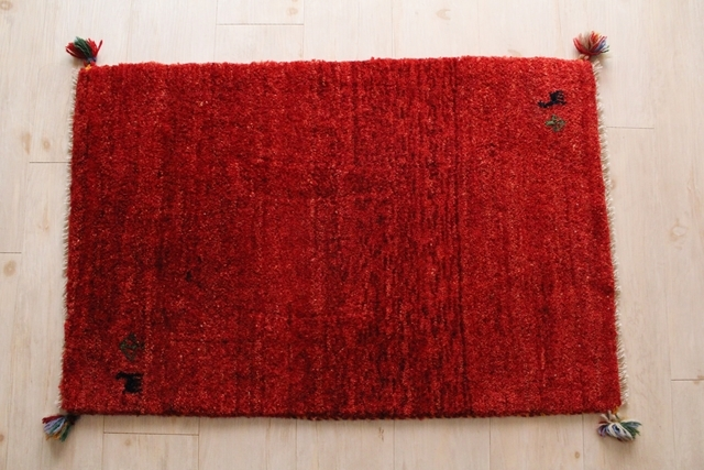 遊牧民のじゅうたん ギャッベ(玄関マットサイズ大 88×57cm) 160