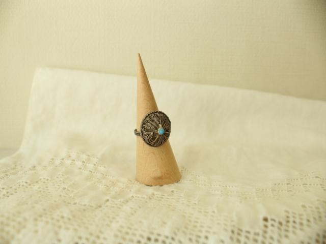 真鍮の指輪(半球型) AC346