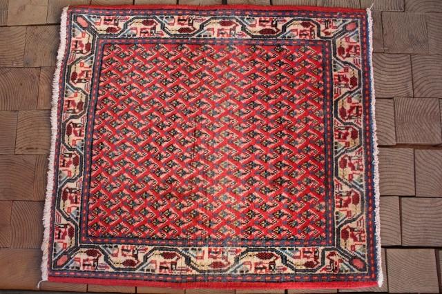 サラバンド絨毯(玄関マットサイズ中) 3395