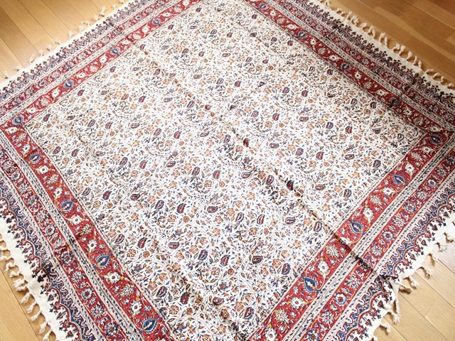 更紗 正方形クロス・大 (150cm×150cm) ZA014-2
