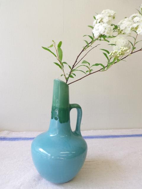 ペルシャ青釉 花瓶B ZA244