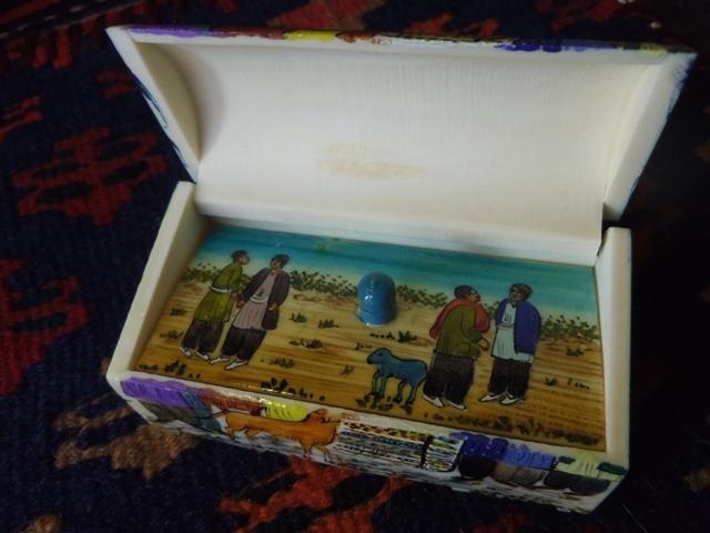 ラクダの骨の小箱(長) ZA332