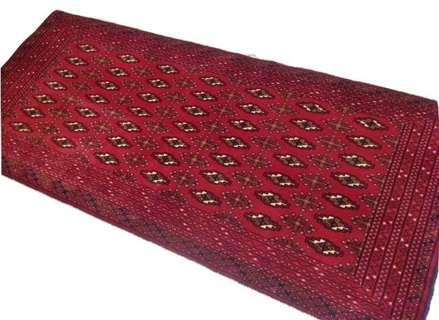 【送料無料】トルキャマン絨毯(143×66cm) Y172