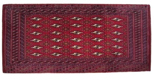 【送料無料】トルキャマン絨毯(134×61cm) Y193