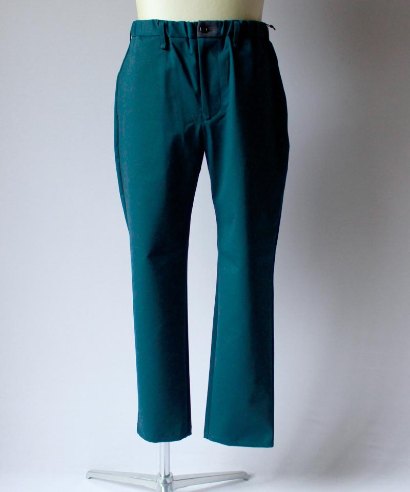 CURLY BLEECKER TROUSERS ink green