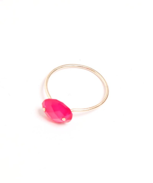 Atelier Mon pinkcalcedony ring