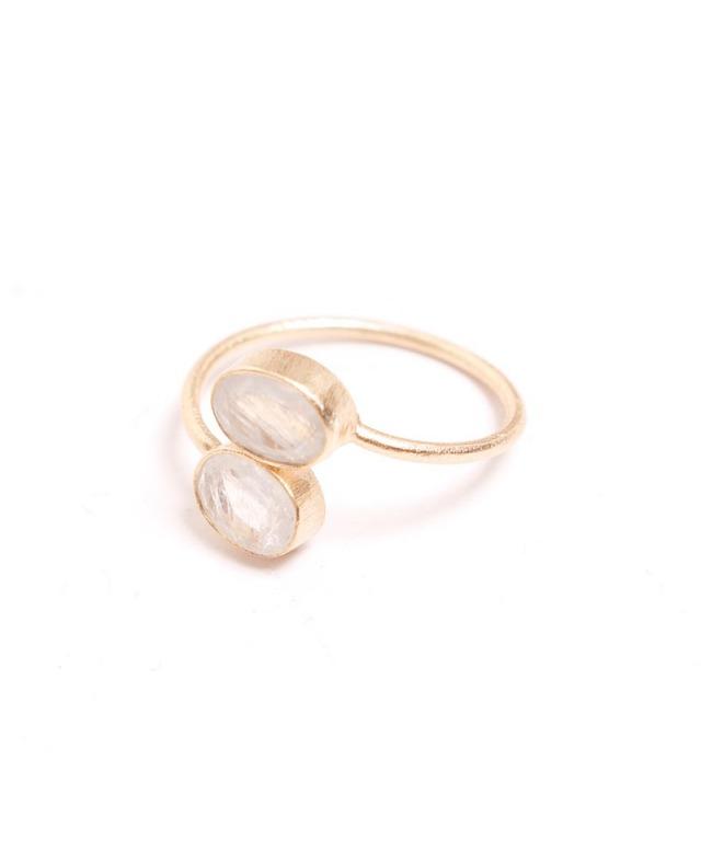 Atelier Mon rainbowmoonstone ring