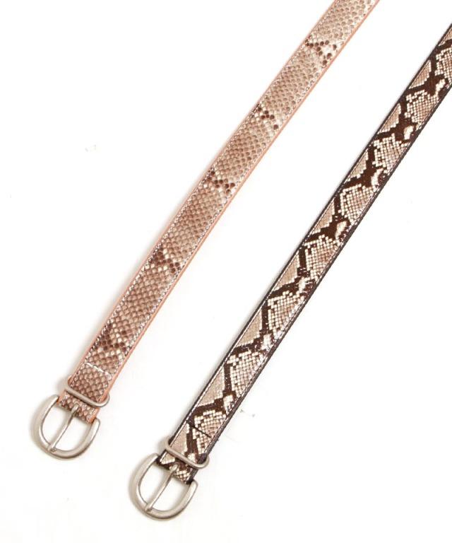 Hender Scheme python tanning belt