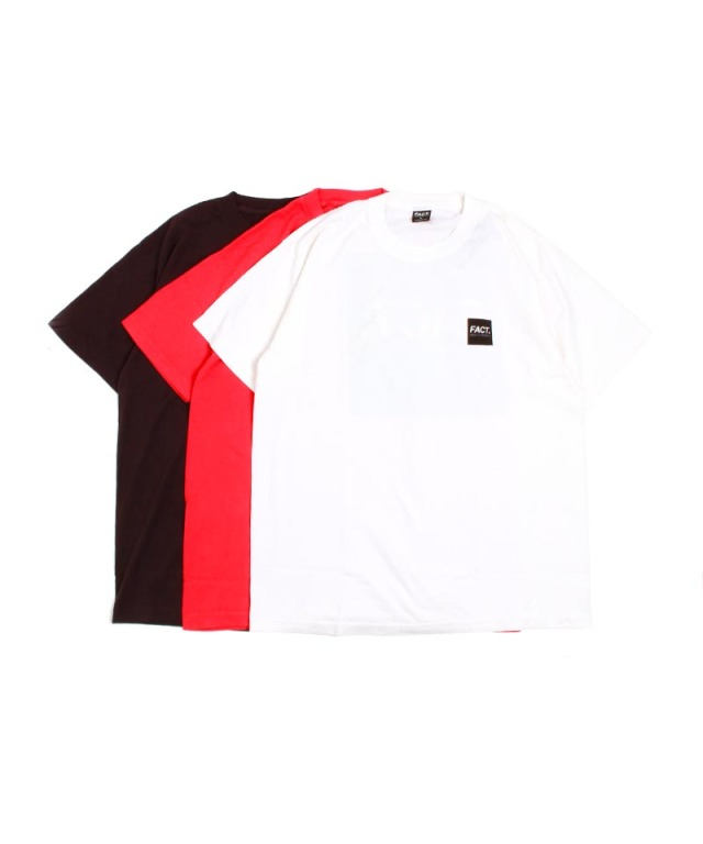 FACT. Box Logo S/S T-shirts