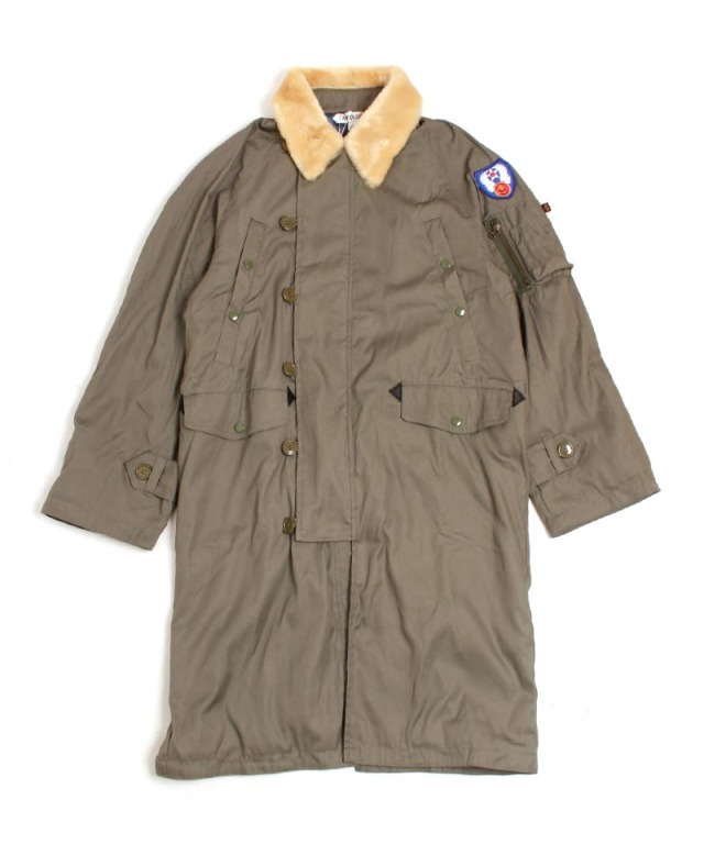 LANDLORD ALPHA N3B TRENCH COAT