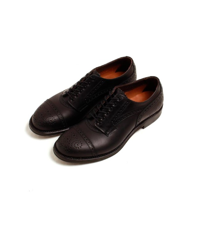 foot the coacher MENDELL (LEATHER SOLE)