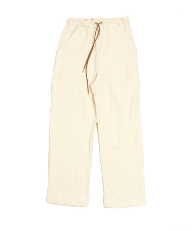 babaco JACQUARD RELAXED PANTS