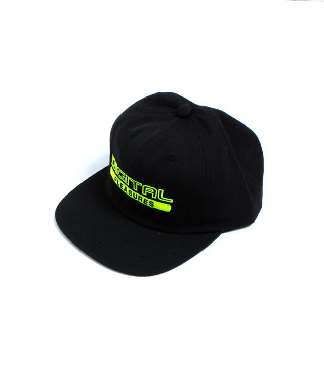 PLEASURES DIGTAL SNAPBACK CAP