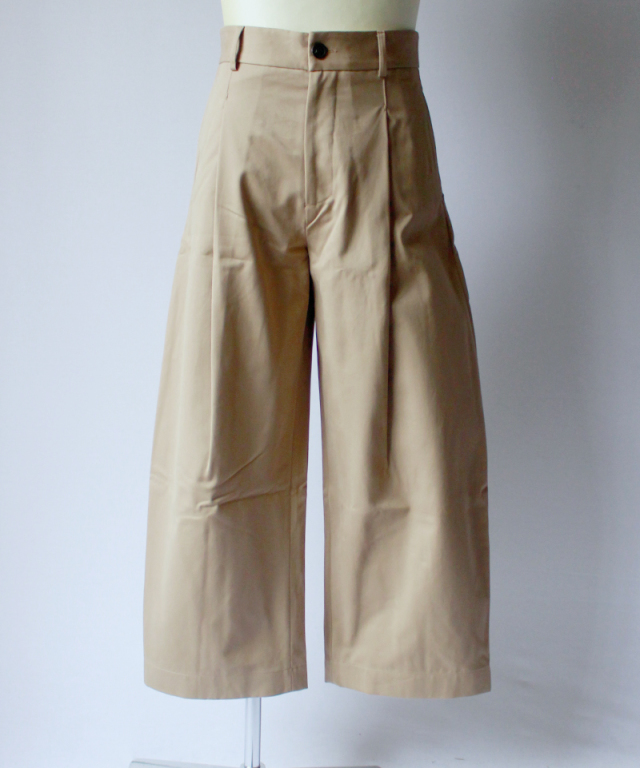 STUDIO NICHOLSON BRIDGES PANT tan
