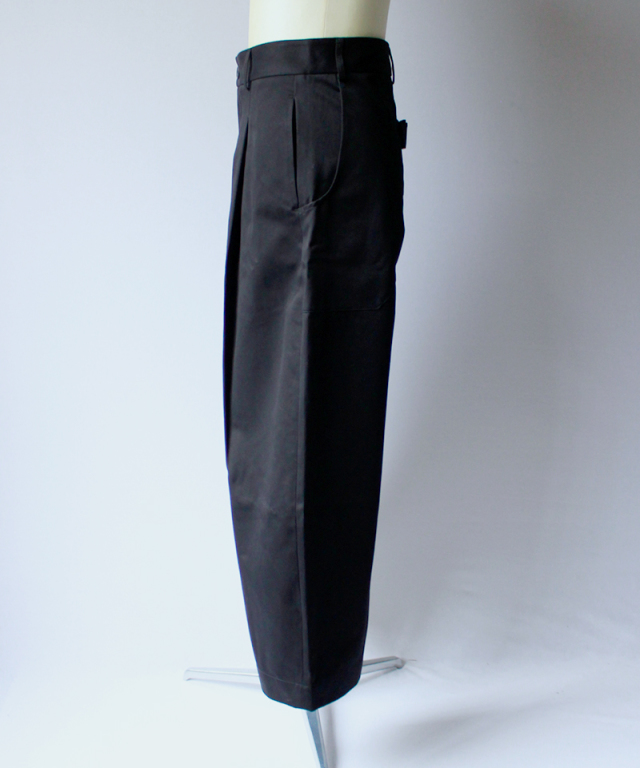 STUDIO NICHOLSON BRIDGES PANT black
