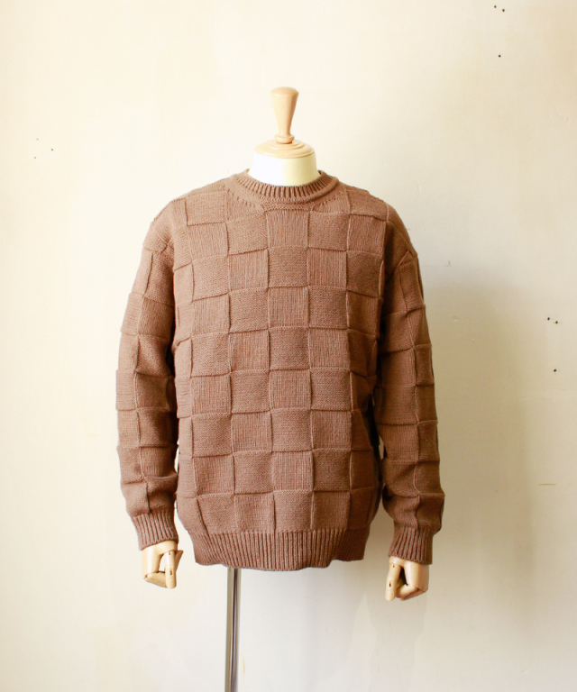 crepuscule LINKS KNIT P/O brown
